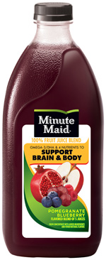 Minute Maid Pomegranate Blueberry Flavored Blend of 5 Juices